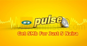 Mtn 5mb Per 5 Naira Get it To any limitation only for Mtn Pulse Subcribers.